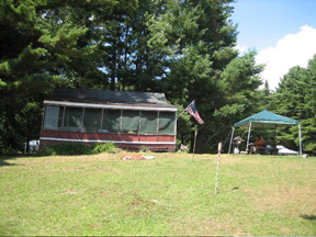 Our Rented McMansion  On Great Sacandaga