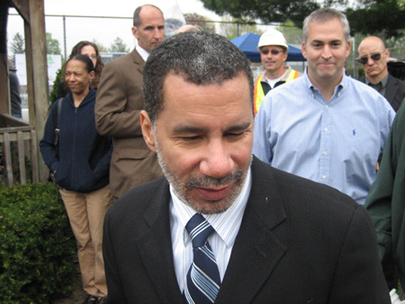 NYS Governor David Paterson On Morton Avenue Last Year