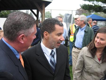 Governor David Paterson In My Neighborhood Last Year