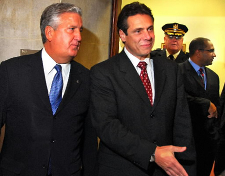 Jennings With Andrew Cuomo