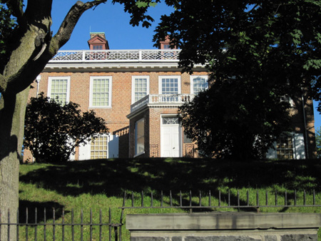 Schuyler Mansion Of Albany, July 2011