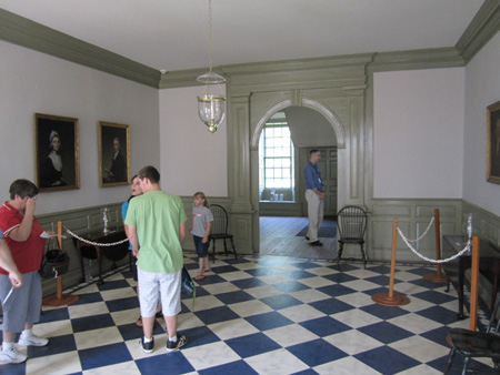 Schuyler Mansion, First Floor