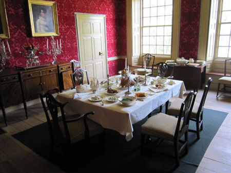 Schuyler Mansion, Dining Room