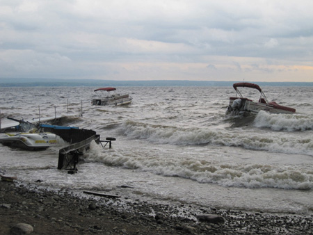 Windstorm On Great Sacandaga, August 2011