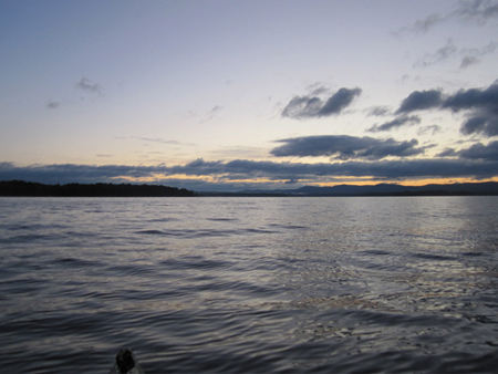 On Great Lake Sacandaga At Dawn