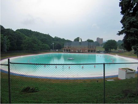 Lincoln Park Pool, Saturday Morning July 2012