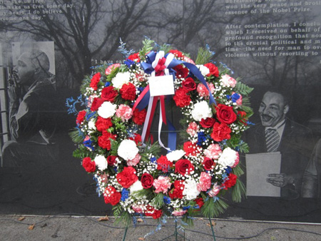 Wreath For Dr. King