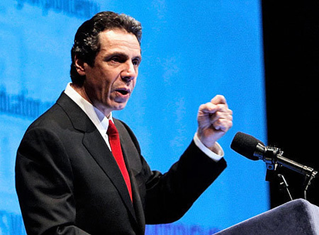 Governor Andrew Cuomo Announcing His Support For Non-Indian Casinos, Albany 2011