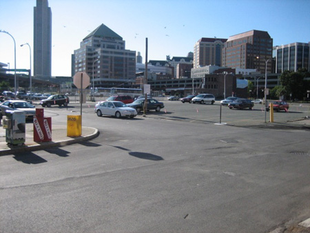 Albany Convention Center Site In 2007