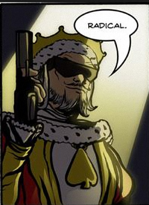 King Radical From Dr. McNinja Pronounces Judgement
