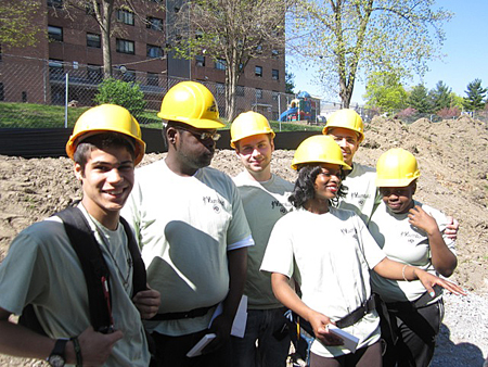 outhBuild Kids Are Learning Construction skills With This Project