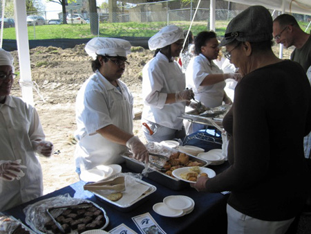 Culinary Students From Abrookin Vocational Tech Center Feed The Atendees