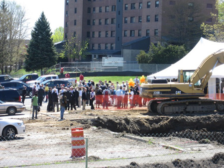 CSCC Groundbreaking, May 2, 2013