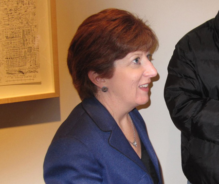 Kathy Sheehan, Probably Our Next Mayor, At The Opening Of Her Campaign Headquarters Earlier This Year