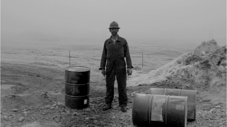 Bakken Field Oil Worker, North Dakota