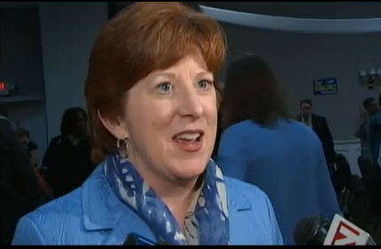 Kathy Sheehan After Receiving The Endorsement Of The Albany County Democratic Committee
