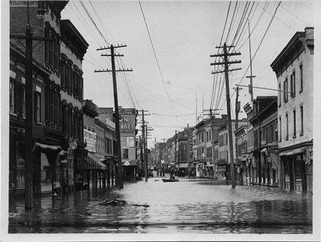 The Old Problem Of Flooding: South Pearl Street, 1913