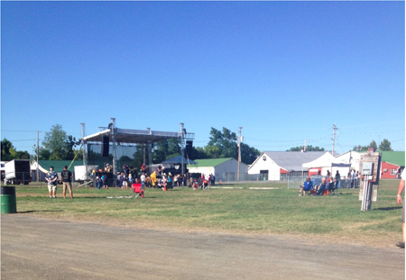 Poorly Attended NRA Gun Rights Rally At The Altamont Fairgrounds, August 24 2013: Not A Mass Movement