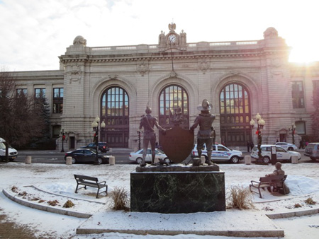 Kiernan Plaza, The Former Albany Union Railroad Station