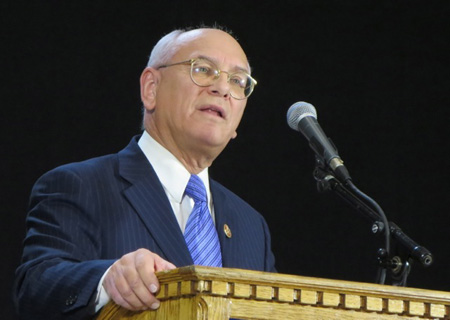 Master Of Ceremonies Congressman Paul Tonko