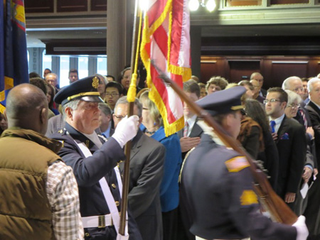 American Legion North Albany Presents Colors