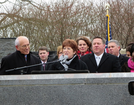 Everyone Listened Carefully To Mayor Sheehan's Stunning Speech