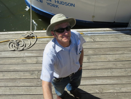 Mr. David Borton, Builder Of Solar Powered Boats