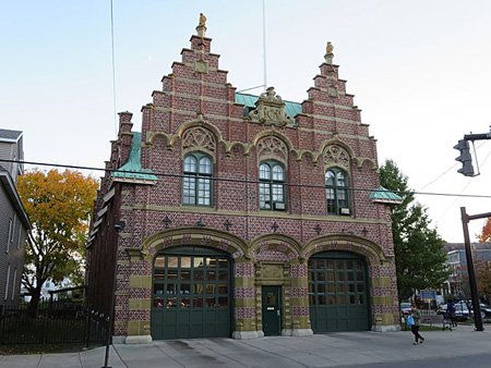 The Wonderful Incredible Delaware Avenue Firehouse