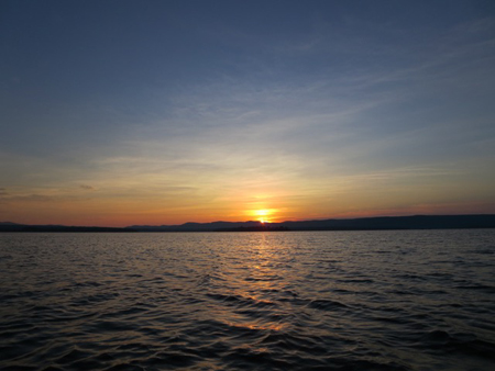 Dawn On Great Lake Sacandaga