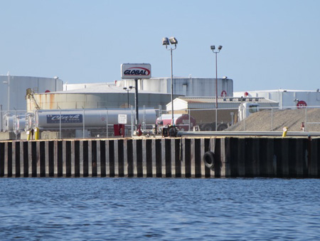 Global Oil Transfer Facility At The Port Of Albany