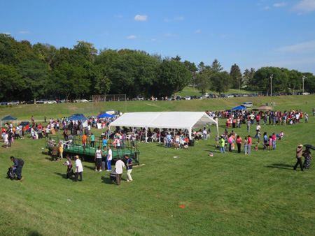 Mississippi Day 2015, Lincoln Park In Albany