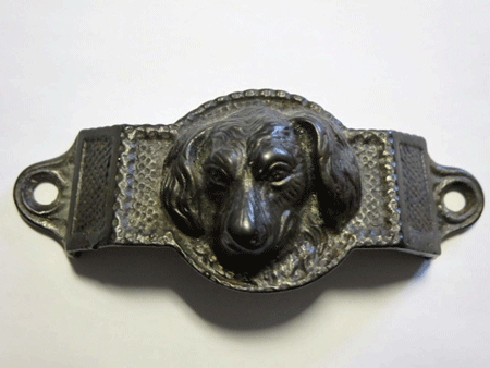 Cast Iron Dog Head Drawer Pull: Is It Really Old?