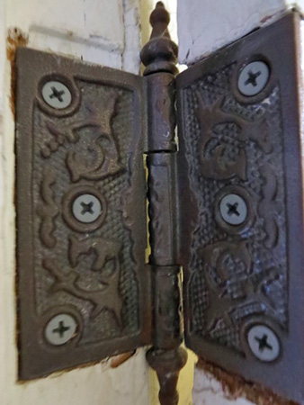 Cast Iron Hinge Circa 1900