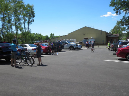 The Hard To Find Parking Lot At The Trailhead On South Pearl Street In The South End Of Albany