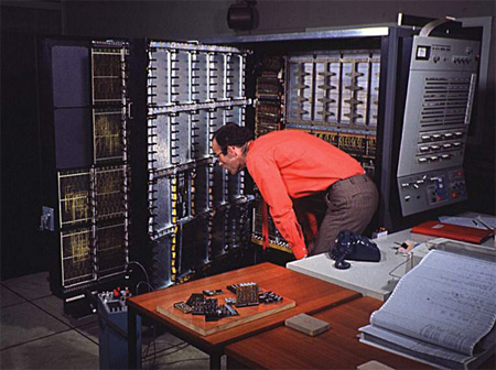 A Priest Trying To Make An IBM 360 Work, A Scene I Often Observed At The Ryan Mansion