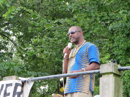 Mr. Willie White of AVillage Last September At Island Creek Park