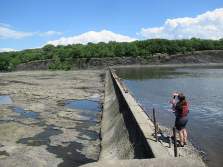 On Top Of The Spillway