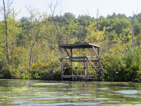 Permanent Duck Blind On Fish Creek