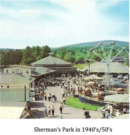 Sherman's Park in the 1940's/50's