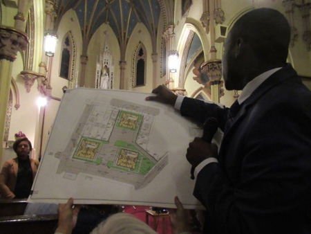 Corey Jones Brings The Site Plan Into The Audience