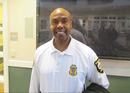 Albany Police Department Chief Eric Hawkins
