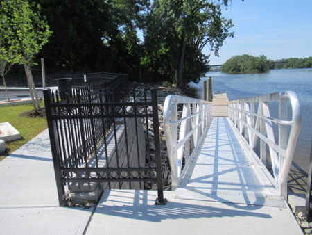 The Small Boat Launch And Handicap Access Ramp