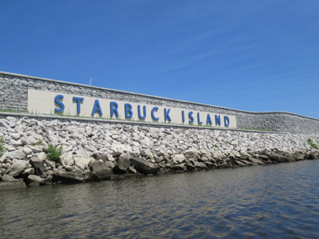 On The Troy Side Of Starbuck Island